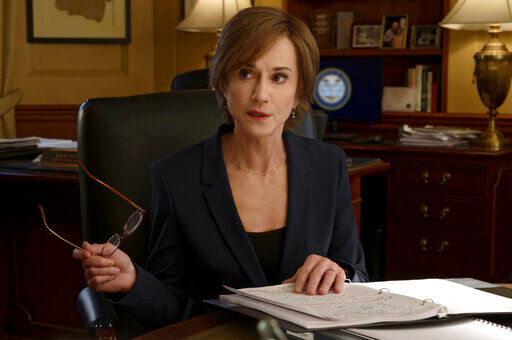 Holly Hunter suits up as US prosecutor in 'The Comey Rule'