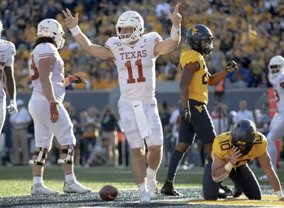 Texas West Virginia Football
