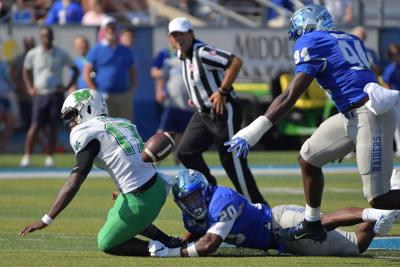 NCAA Football: Marshall at Middle Tennessee