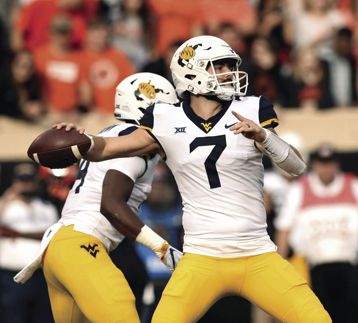 buy popular fc6ad e01f4 WVU, Okla. QBs set for Friday clash | Sports ...