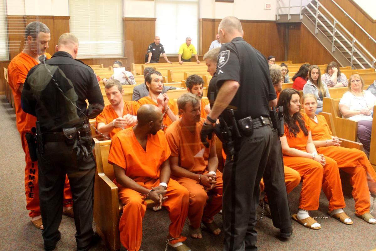 Arraignments begin for those arrested in Tuesday raids in Huntington