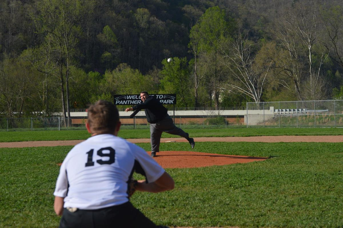 spence first pitch.JPG