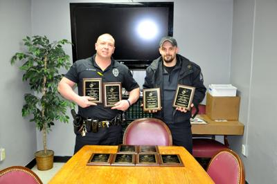 Williamson Police Dept  wins several awards   News