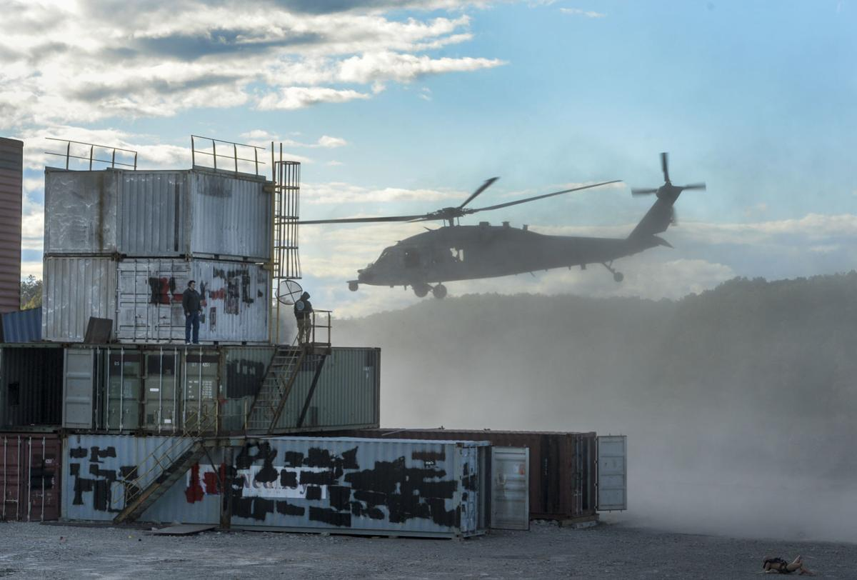 Navy Exercise at Hobet Mine