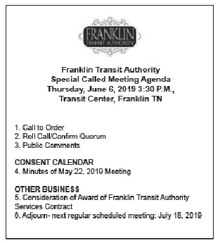 Franklin Transit Authority