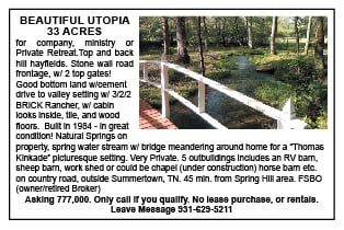 Beautiful Utopia 33 Acres
