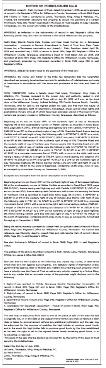 Notice of Foreclosure Sale