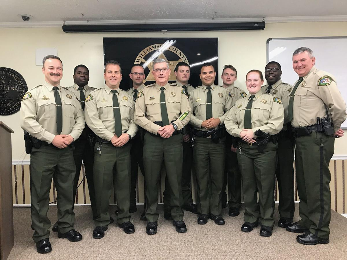 Nine sheriff's deputies graduate from detention training academy