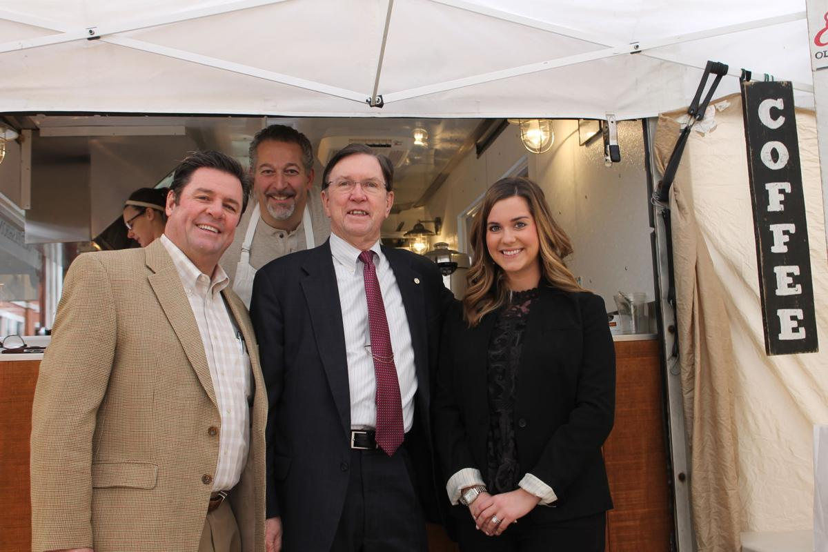 (Left) Derby Jones, Danny Tassone, Richard Herrington and Megan Pratt
