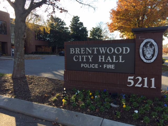 Brentwood City Hall file photo