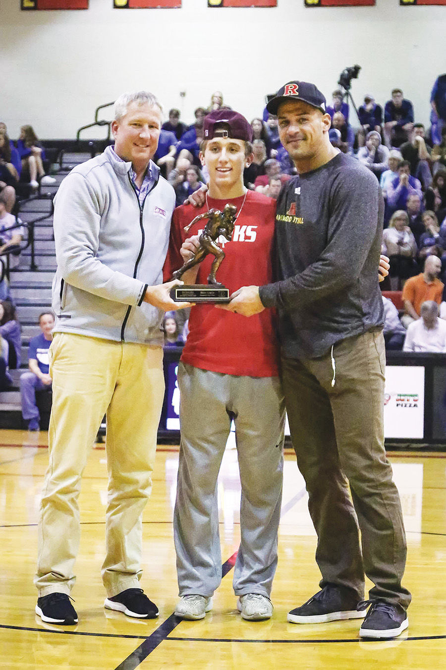 Player of the Year Brian Garcia