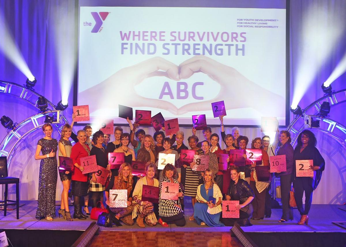 Local breast cancer survivors take to the runway for
