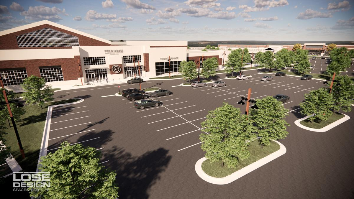 Franklin Sports Complex exterior rendering