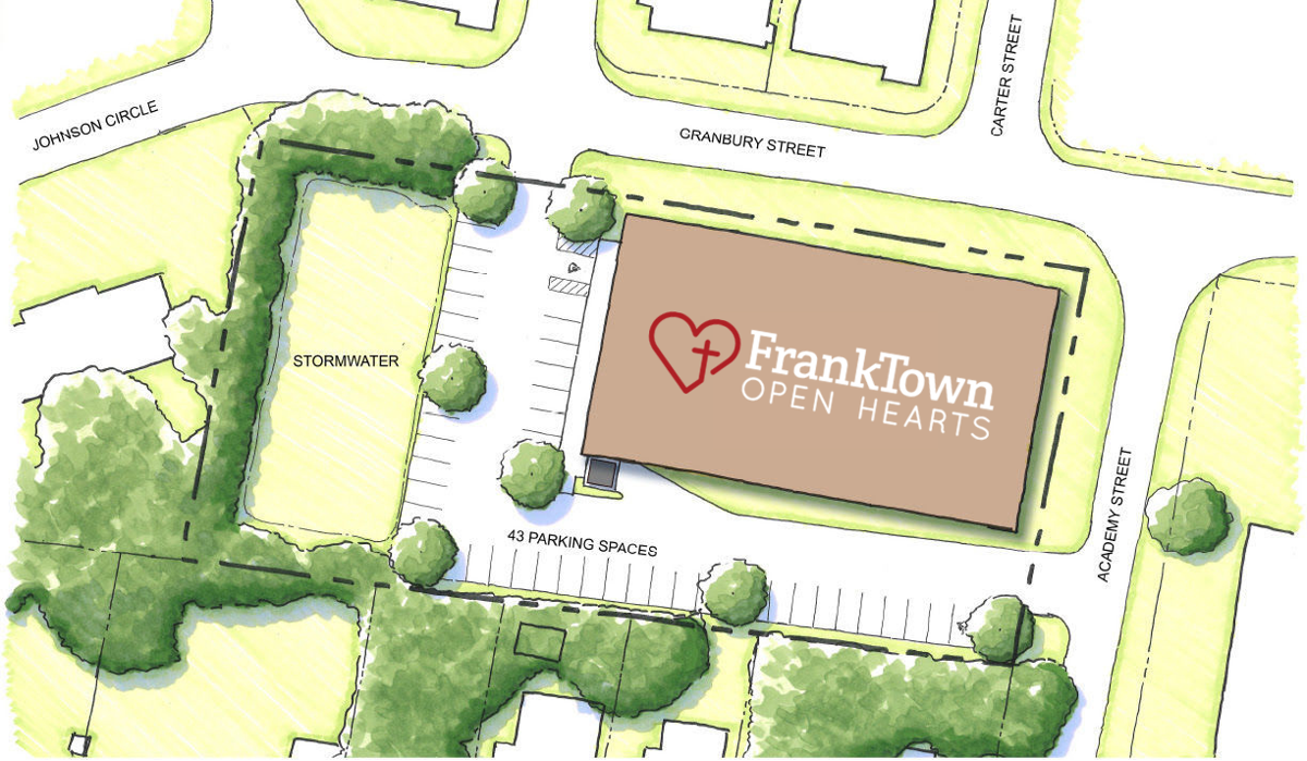 FrankTown Open Hearts Granbury/Academy property