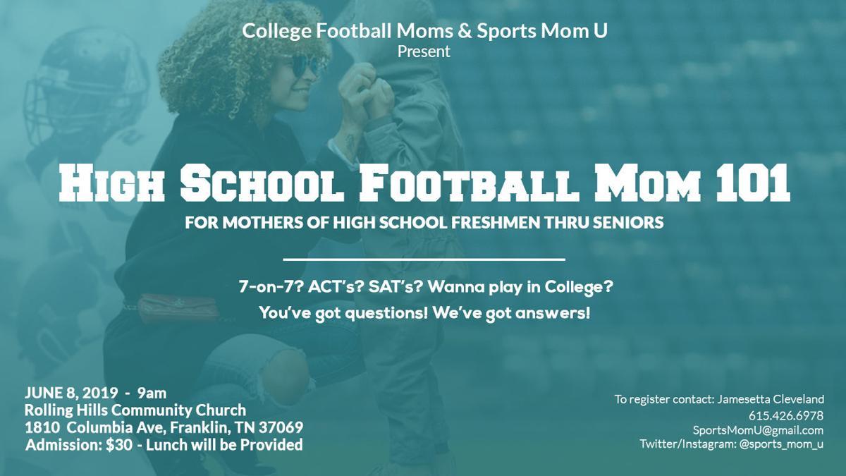 Football Moms 101