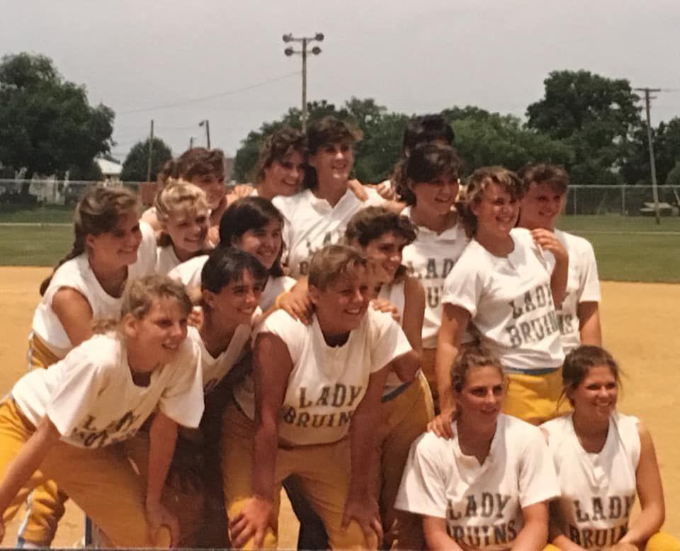 1989 Brentwood softball team