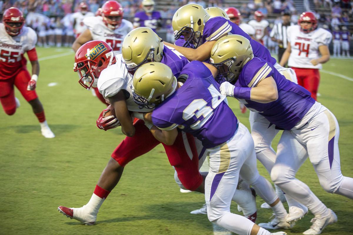 Football - Champagnat at CPA - Week Three