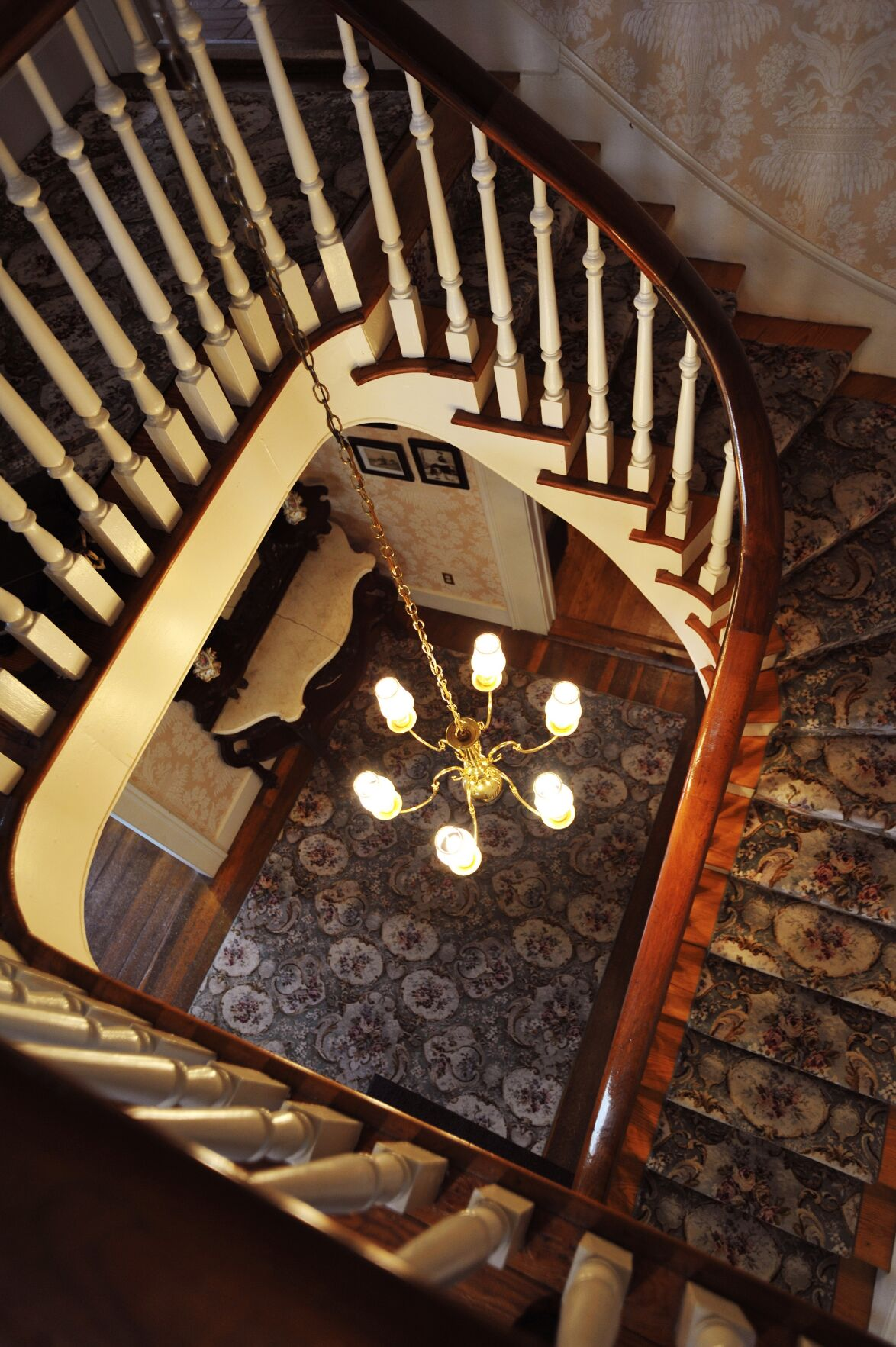 Lotz House stairwell