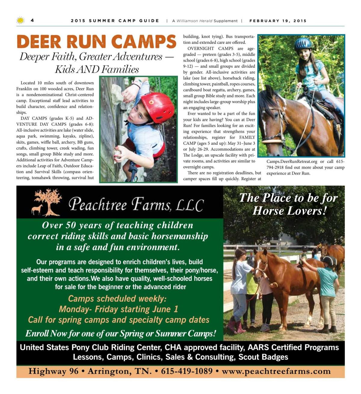 Camp Guide 2015 4 Pdf Williamsonherald Com