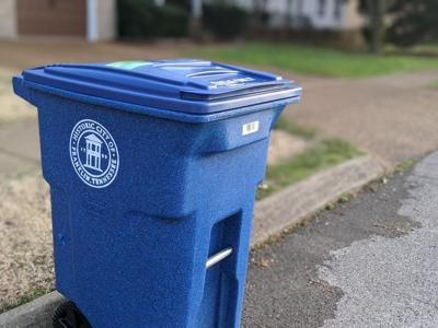 Franklin Recycling Bin