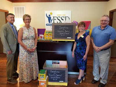 Morning Pointe school supply drive