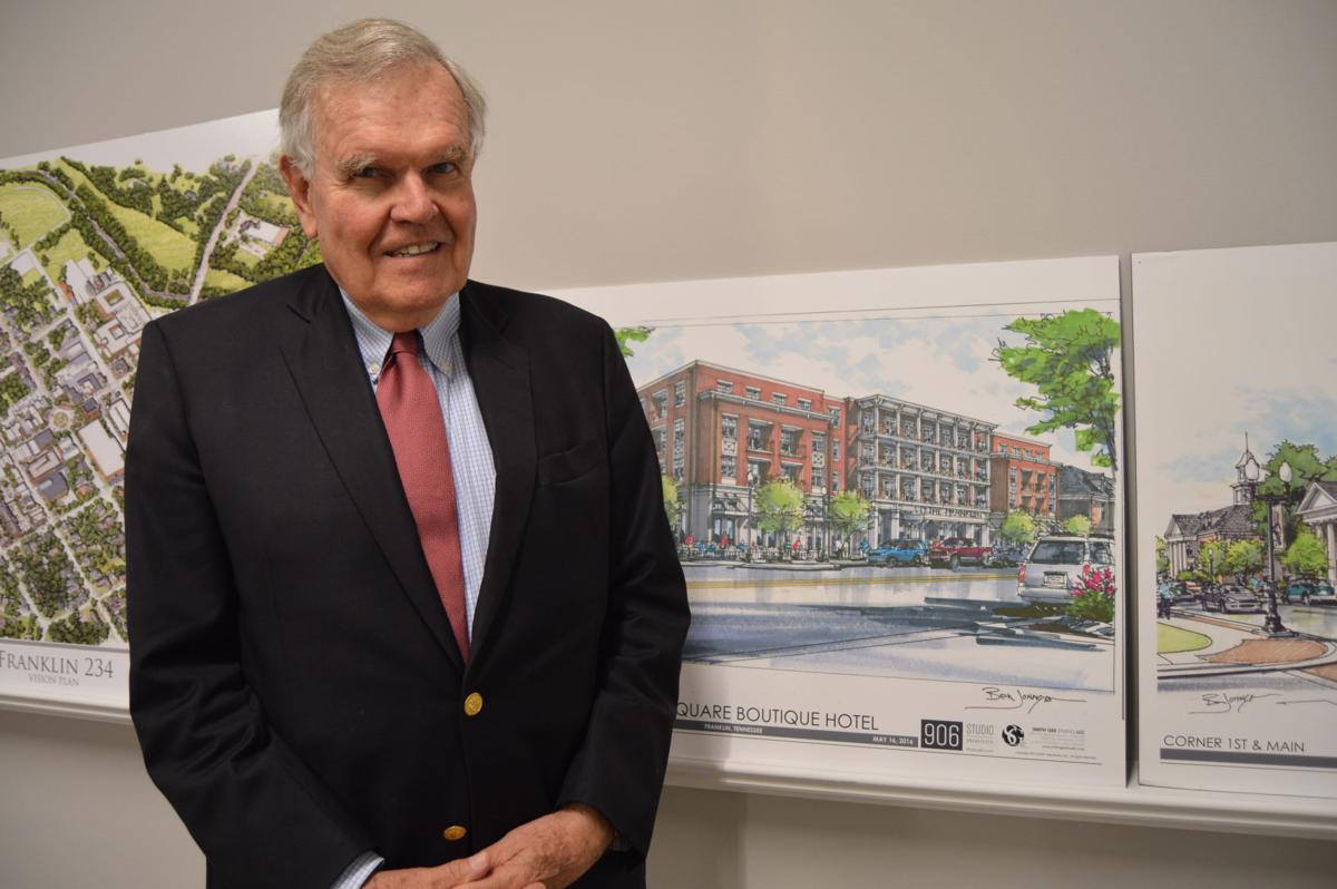 Harpeth Square unveils plans as biggest, most expensive project ever in downtown Franklin