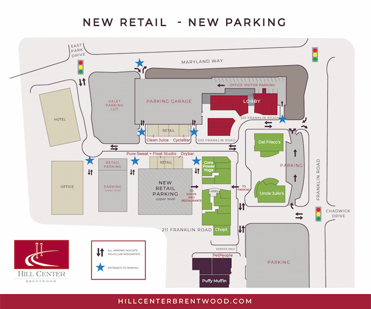 Two new tenants announced for Hill Center Brentwood