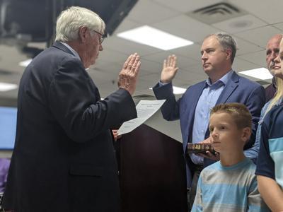 Josh Brown sworn in