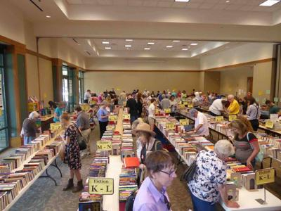 Brentwood Library used book sale