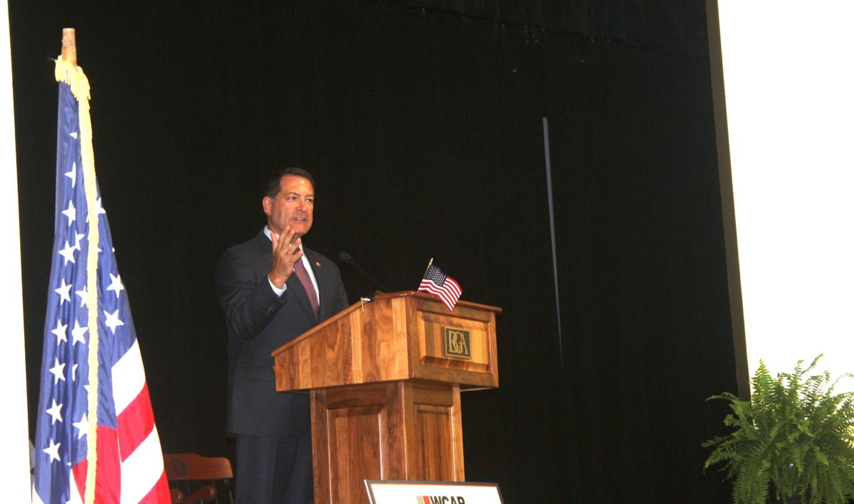 U.S. Rep. Mark Green speaks about Washington at WCAR luncheon