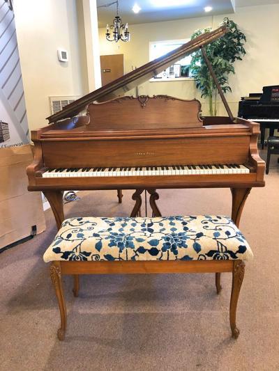 Rickey Nelson family piano