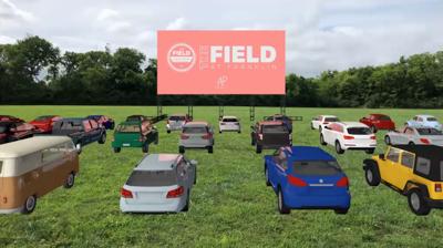 Field at Franklin Drive-In Theatre