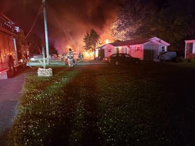 Franklin House Fire