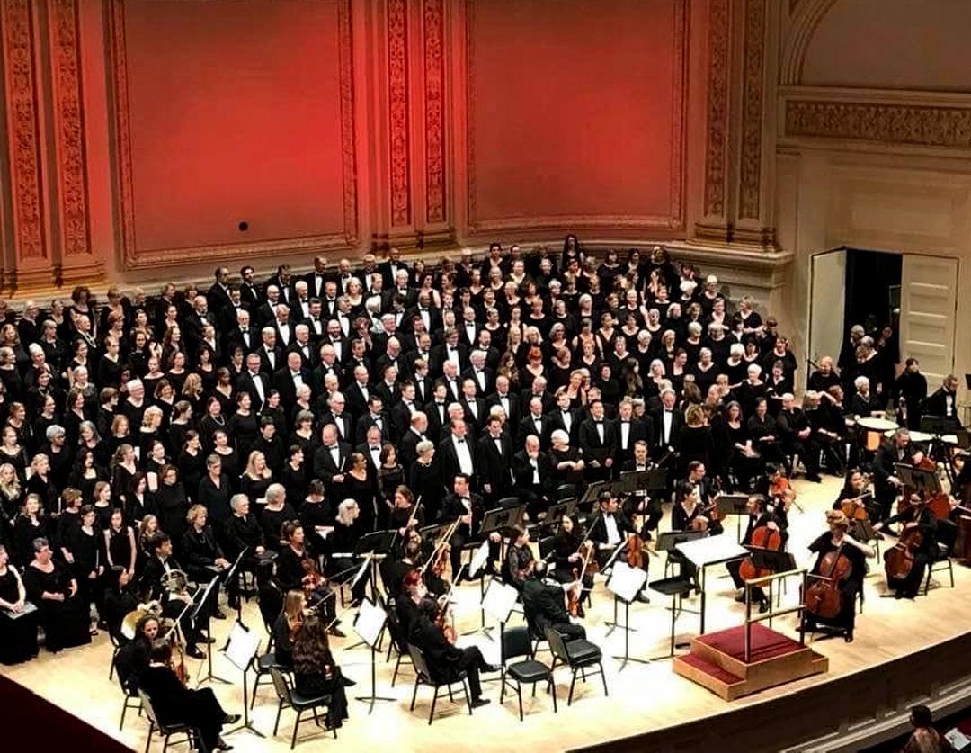 Williamson County Chorus at Carnegie Hall