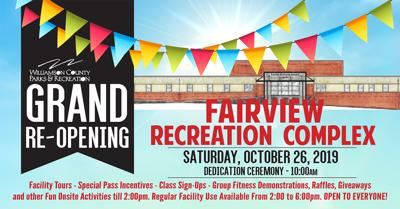 Fairview Recreation Complex reopening
