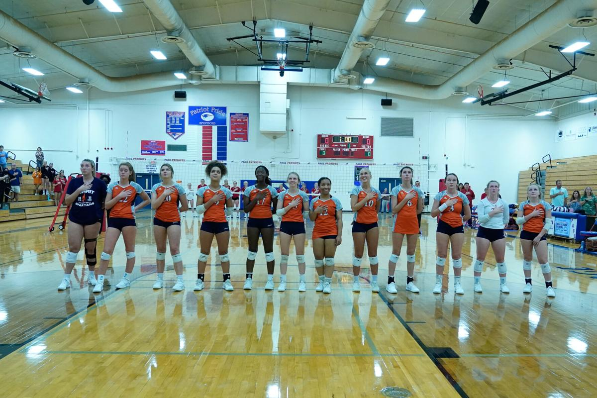 Volleyball– Summit at Page