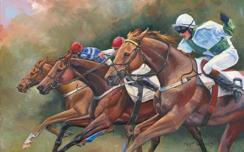 Topper Williams painting