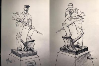 U.S. Colored Troop (USCT) statue Fuller Story