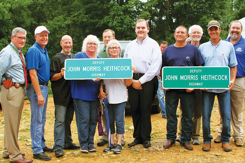 Deputy John Morris Heithcock Highway dedication