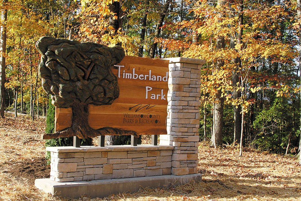 Timberland Park showcases the natural splendor of the