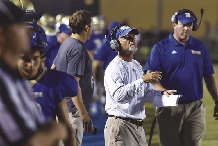 Brentwood coach Ron Crawford