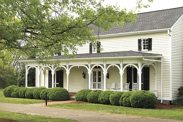The Historic Cool Springs House in Crockett Park was moved from the Cool Springs area to Crockett Park when developers donated it to the City during the ealry development of the CoolSprings Mall area. The house was once owned by relatives of Brentwood Commissioner, Anne Dunn. It is regularly used for events from meetings and small gatherings to weddings.