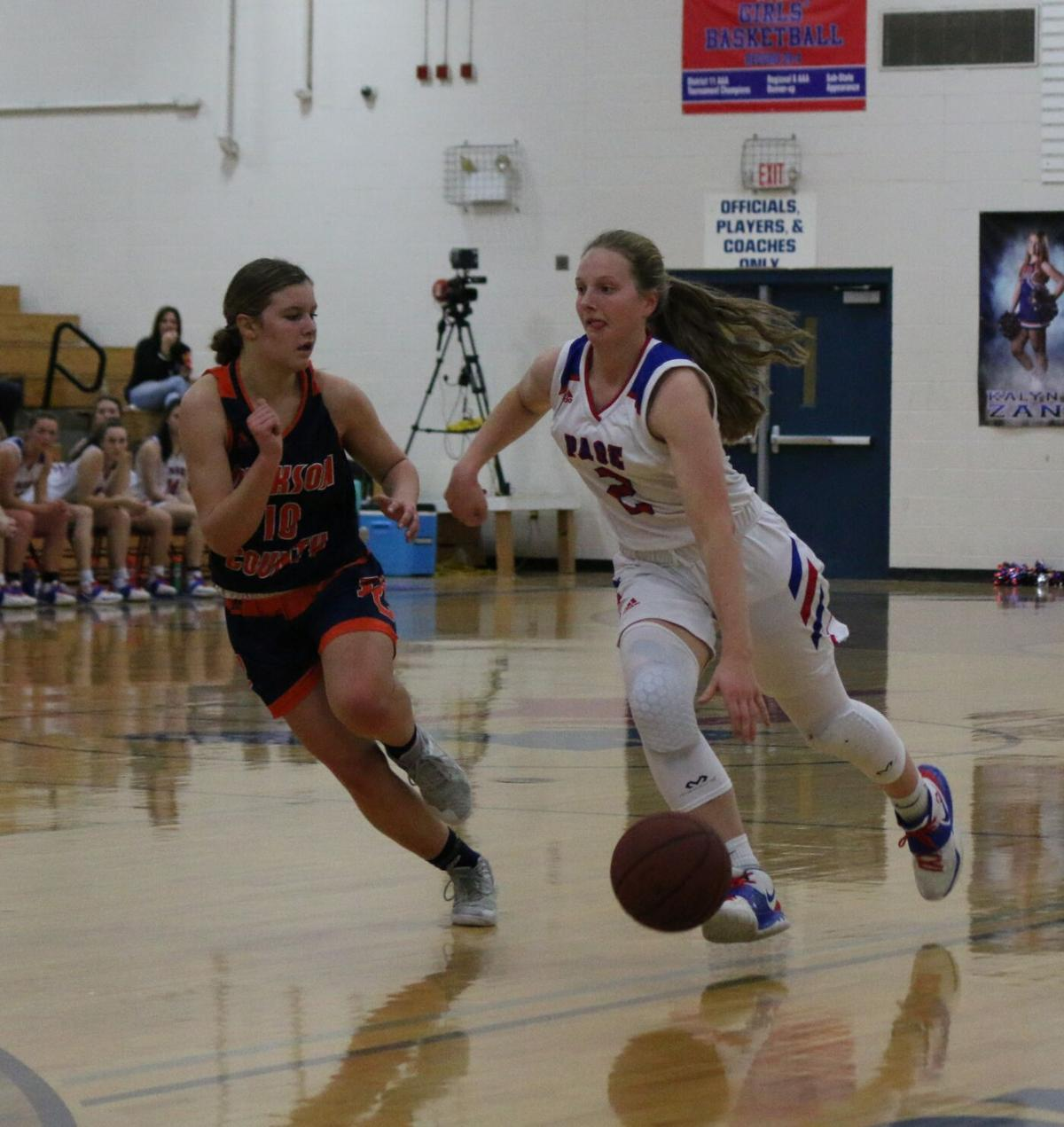 Hoops: Dickson County girls at Page