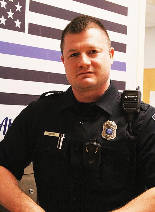 Nolensville Police Officer Greg Moore