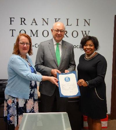 Franklin Tomorrow Day proclamation