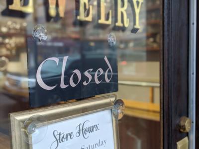 Walton's Antique Jewelry Closed Main Street