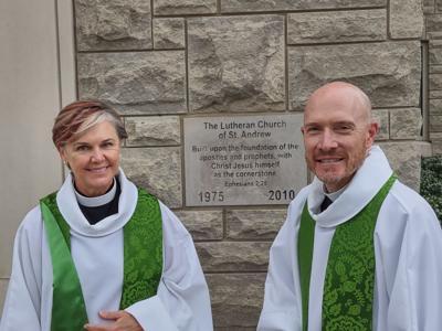Pauline Farrington and Eric Murray