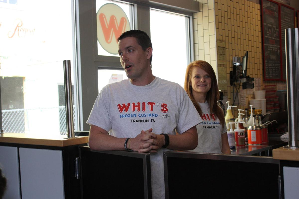 Co-owners of Whit's Brian and Erin Welch
