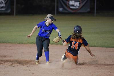Softball – Summit vs. Page, District 11-AAA Tournament .
