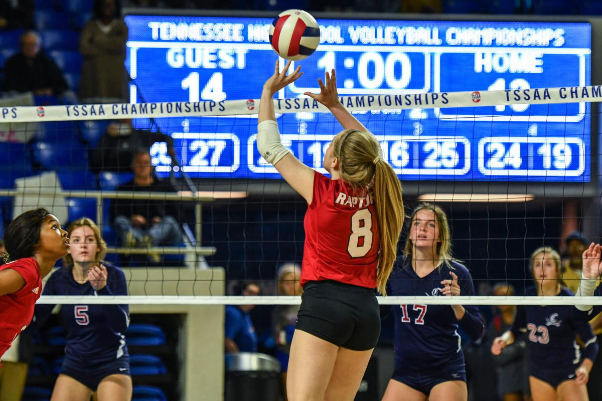State Volleyball – Ravenwood vs. Cookeville, Class AAA elimination